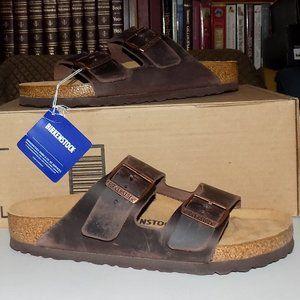 New Birkenstock Arizona Habana leather EU40 US9